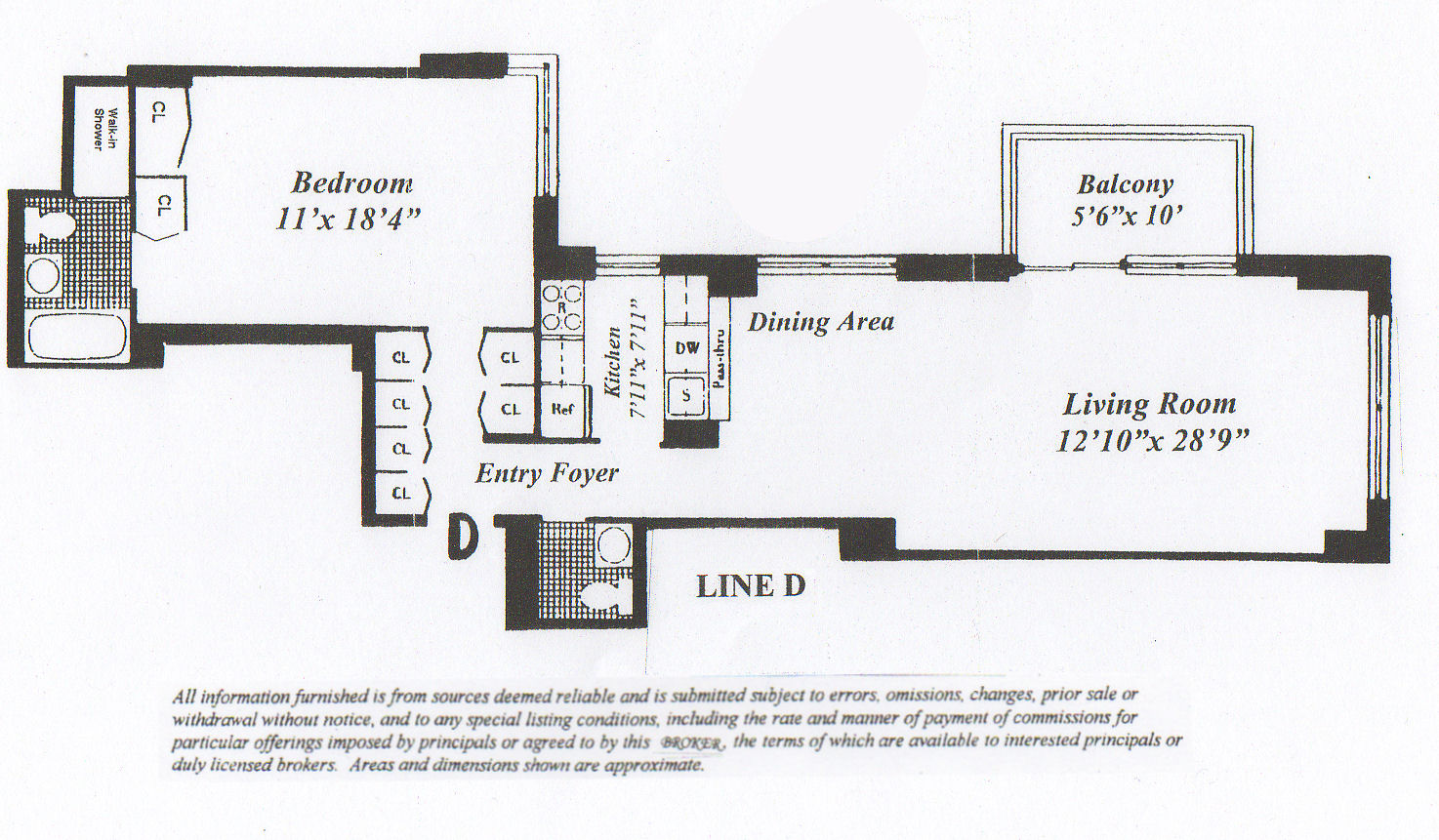 Colonnade condominium manhattan apartments for Balcony dimensions